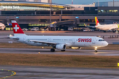 Swiss Airbus A321-212 HB-IOM 2-14-19