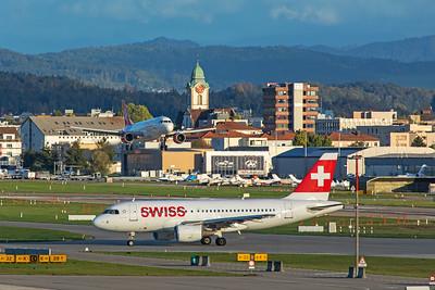 Swiss Airbus A319-112 HB-IPT 10-10-19 2