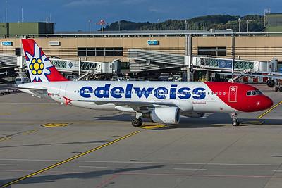 Edelweiss Air Airbus A320-214 HB-IHZ 10-10-19