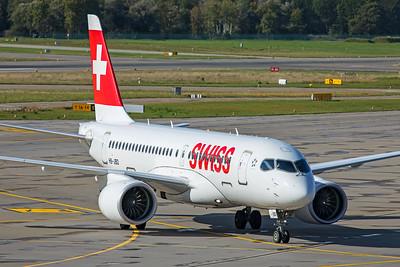 Swiss Airbus A220-100 HB-JBD 10-10-19 2