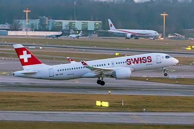Swiss Airbus A220-300 HB-JCS 2-1-19