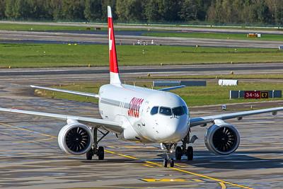 Swiss Airbus A220-300 HB-JCK 10-10-19