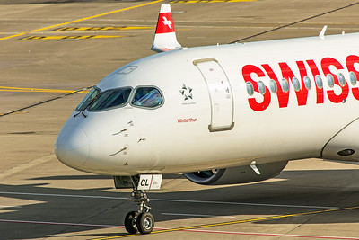 Swiss Airbus A220-300 HB-JCL 10-10-19