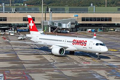 Swiss Airbus A220-300 HB-JCK 10-10-19 4
