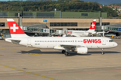 Swiss Airbus A320-214 HB-IJR 10-10-19