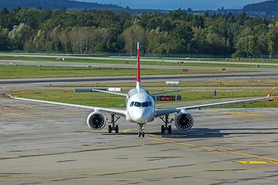 Swiss Airbus A220-100 HB-JBD 10-10-19