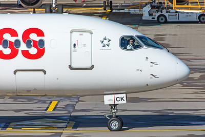 Swiss Airbus A220-300 HB-JCK 10-10-19 3