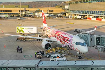 Swiss Airbus A220-300 HB-JCA 2-14-19