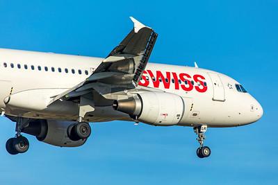 Swiss Airbus A320-214 HB-JLR 2-13-19