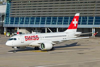 Swiss Airbus A220-100 HB-JBD 10-10-19 3