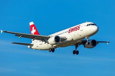 Swiss Airbus A320-214 HB-JLS 2-13-19