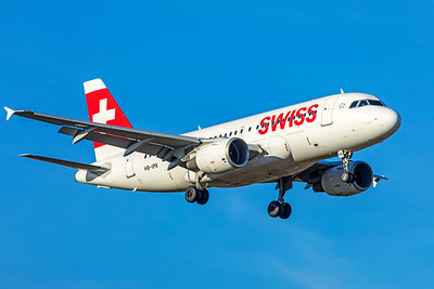 Swiss Airbus A319-112 HB-IPX 2-13-19