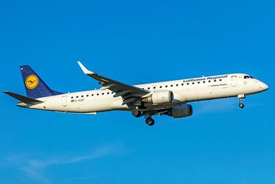 Lufthansa CityLine Embraer ERJ-190-200LR D-AEBC 2-13-19