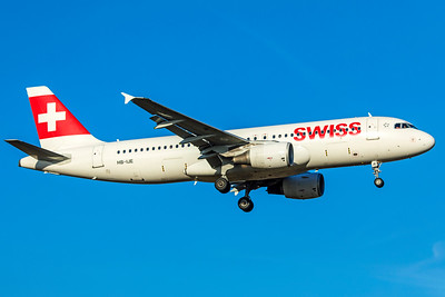 Swiss Airbus A320-214 HB-IJE 2-13-19 2