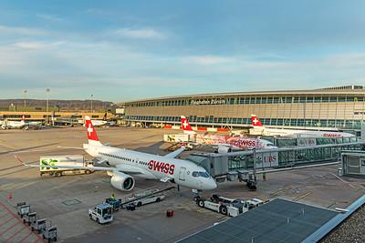 Swiss Airbus A220-300 HB-JCH 2-14-19