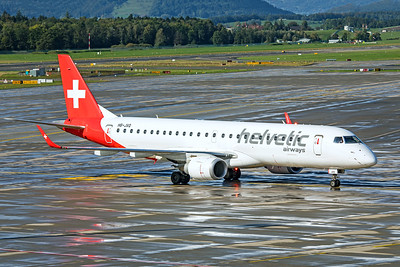 Helvetic Airways Embraer ERJ-190-100LR HB-JVQ 10-10-19