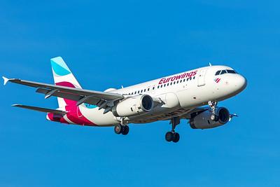Eurowings Airbus A319-132 D-AGWK 2-13-19