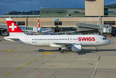 Swiss Airbus A320-214 HB-IJE 10-10-19