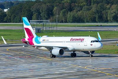 Eurowings Airbus A320-214 D-AEWU 10-10-19