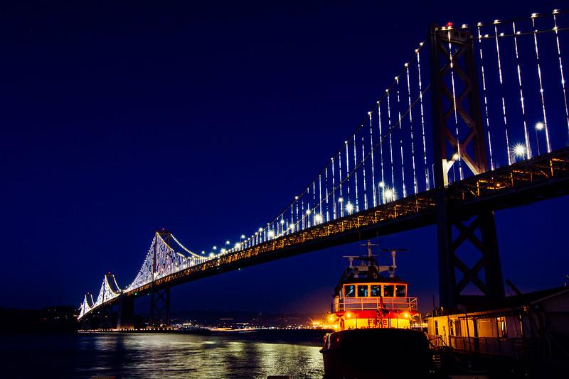 Bay Bridge Time Slice
