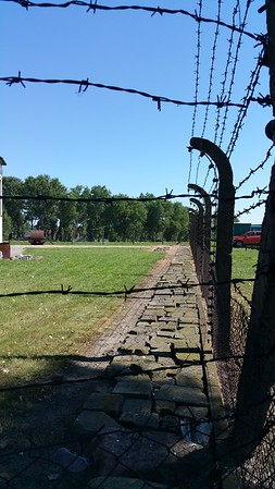 Probably had 13,000 volts running through those wires like they did at Auschwitz