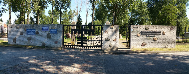 This the entrance to the prison camp albeit a modern one.