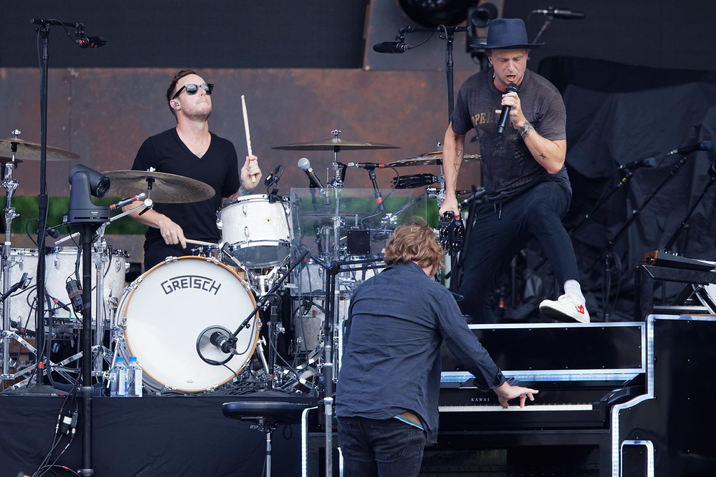 . One Republic at Comerica Park on 7-14-2018.  Photo credit: Ken Settle
