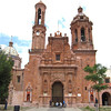 The Facade Is Mexican Baroque, Built During The XVIII Century