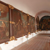 In The Large Scale Series, The Artist Shows The Founding Friars