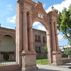 The Gate To The Museum Is Called 'The Pilgrims Arch'