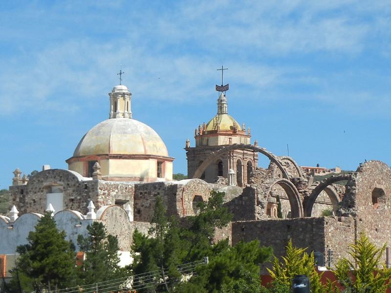 The Parroquia de San Matias, Located In Pinos, Zacatecas