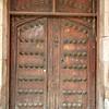 Massive Old Doors Under The Portals