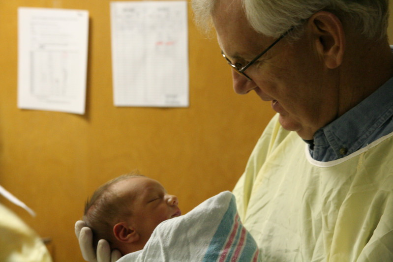 Grandpoppy, meet Zachary