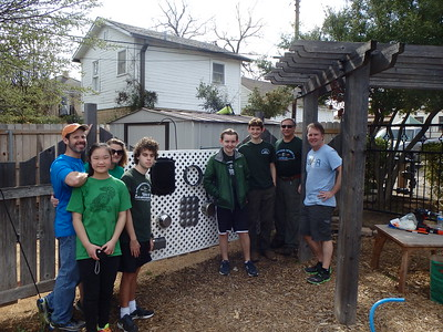 Zachary's Eagle Scout Project - 17 March 2018