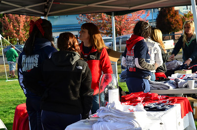 Spirit Fire shirt sales.