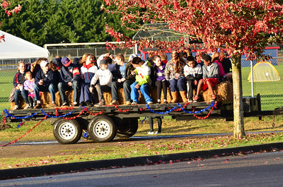 What a day for a hay ride!