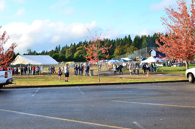 It was a glorious crisp fall day for Spirit Fire 2012