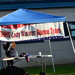 Lady Wolves Dance Team booth