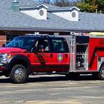 Manchester Eighth Utilities' Rescue 7, a 2016 Ford F-550/2000 EVI remount rescue mini pumper.
