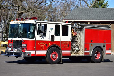 Manchester Eighth Utilities' Engine 3, a 1993 HME?/Saulsbury.