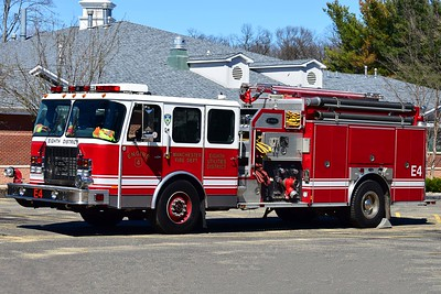 Manchester Eighth Utilities' Engine 4, a 2002 E-One Cyclone II.