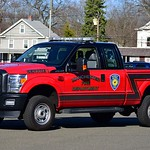 Manchester Eighth Utilities' Service 1, a 201? Ford F-350 pickup truck.