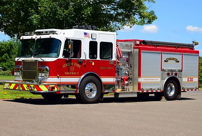 South District's Engine 30, a 2007 Spartan/Marion.