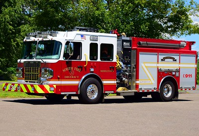 South District's Engine 32, a 2014 Spartan/Marion (ex demo).