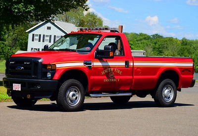 South District's Car 37, a 2010 Ford F-250 pickup.