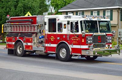 ulster hose co engine 2