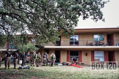 Apartment Fire w/ Hording - 1243 Babcock Rd, San Antonio, TX - 7/12/17