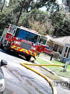 Detached Garage Fire - 300 E. Woodlawn Ave San Antonio TX 08/13/17
