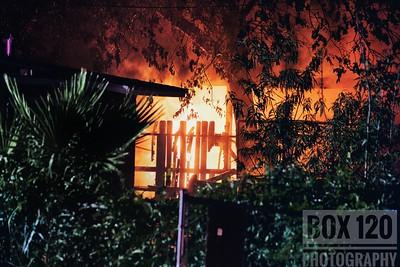 Structure Fire - 1700 W. Mariposa, San Antonio, TX - 7/17/17