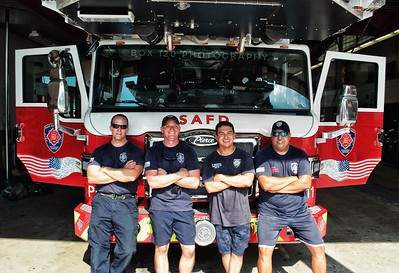 New Apparatus Shoot - San Antonio Fire Department, San Antonio, TX - 8/4/17